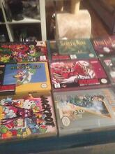 Boxed Gaming items(Nes/Snes/N64/Gameboy/GameCube/Saturn/sega) North Perth Vincent Area Preview