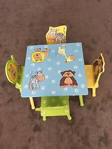 Kids table and 4 chairs Singleton Heights Singleton Area Preview