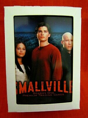 SMALLVILLE TRADING CARD SET, Season One 90-CARD COMPLETE FACTORY SET