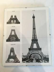 La Tour Eiffel glass framed print Marrickville Marrickville Area Preview