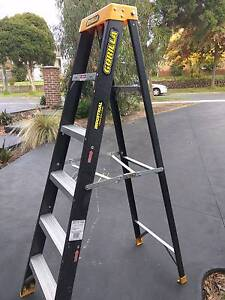 Gorilla Electrical Safe Fibreglass 1.8 M High 120kg Load Ladder Balwyn North Boroondara Area Preview