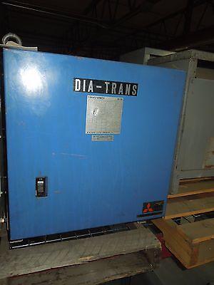 Mitsubishi 15kva 402201-210v 3ph Dry Type Transformer Used E-ok