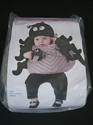 New Silly Spider Plush Baby Toddler Costume Up to 24 Months best for 6-12 Months
