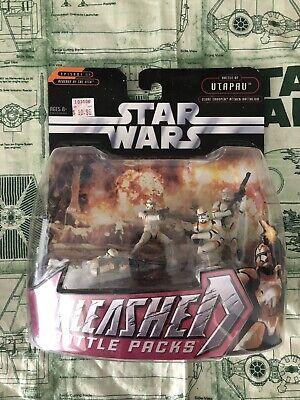 Star Wars Unleashed Battle Packs Utapau Clone Trooper Attack Battalion Figures