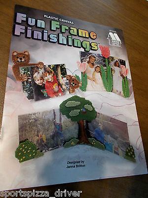 Fun Frame Finishings Plastic Canvas Leaflet Annie's Attic #871433