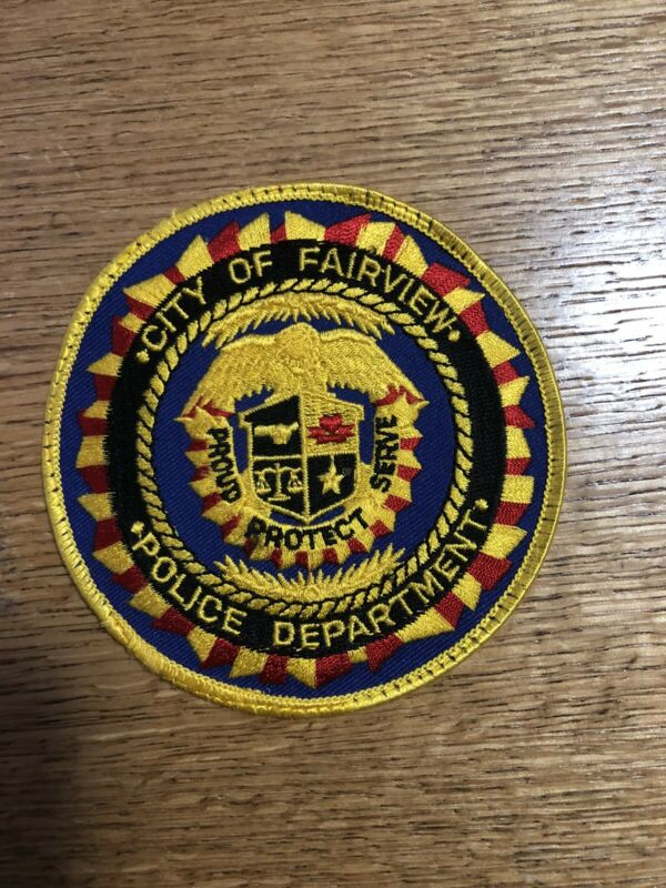 Fairview TENNESSEE TN Police patch