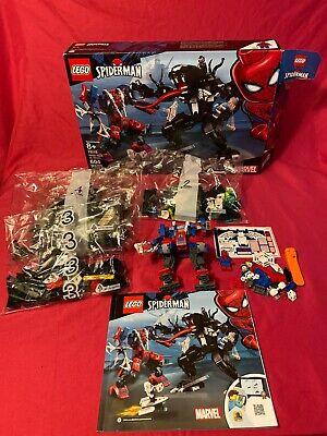 LEGO Spider Mech vs Venom Set (76115) Mostly Sealed Spiderman mech missing piece