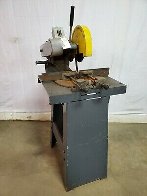 Kalamazoo Industries Km-10-3 Industrial Abrasive Mitre Saw 10 Inch 3 Phase