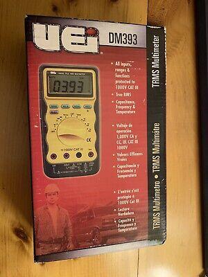 Uei Test Instruments Dm393 Auto Ranging Cat-3 Trms Digital Multimate 1000v New