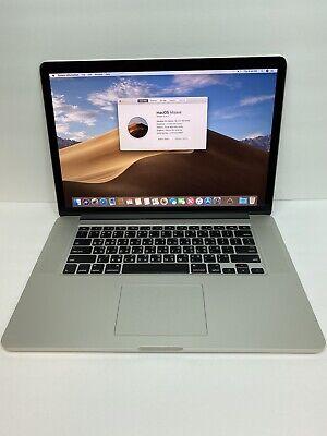 "Apple MacBook Pro 15"" ME293LL/A, I7-4750HQ @ 2.0GHz, 8GB, 256GB SSD L👀k!!"