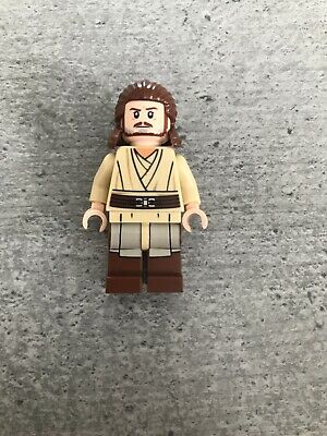 Lego Qui-Gon Jinn Minifigure from set 75169 Star Wars Jedi NEW sw810 Genuine