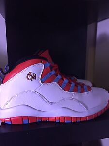 Jordan 10 Chicago Flag DEADSTOCK size 10