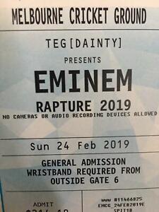 Eminem Rapture Tour 2019 MCG Melbourne