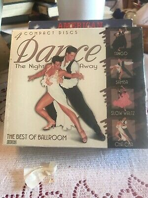 Dance The Night Away: The Best of Ballroom CD's Tango/Samba/Cha Cha/Slow Waltz