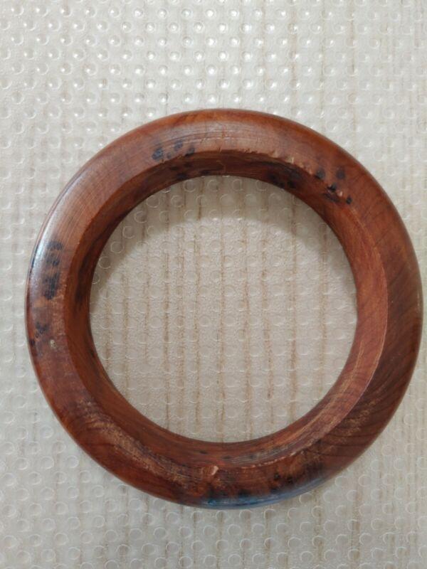 屋久杉泡瘤手镯Japaneses Yakushima Yakusugi Cedar fir burl wooden bracelet bangle Art