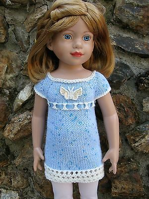 """Gotz, Magic Attic or 18"""" Slim Doll Clothing-Hand Made-Knit in USA"""