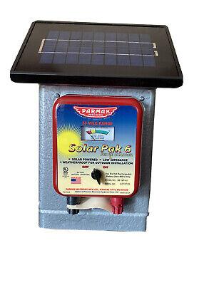 Parmak Df-sp-li Electric Fence Charger 25-mile Solar-pak 6-volt Battery -