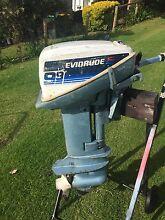 Evinrude 9.9 outboard motor boat tinny Narooma Eurobodalla Area Preview