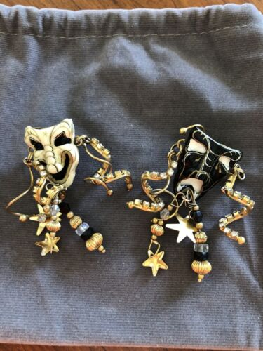 Lunch At The Ritz Theatre Thalad Pierced Earrings - $83.00