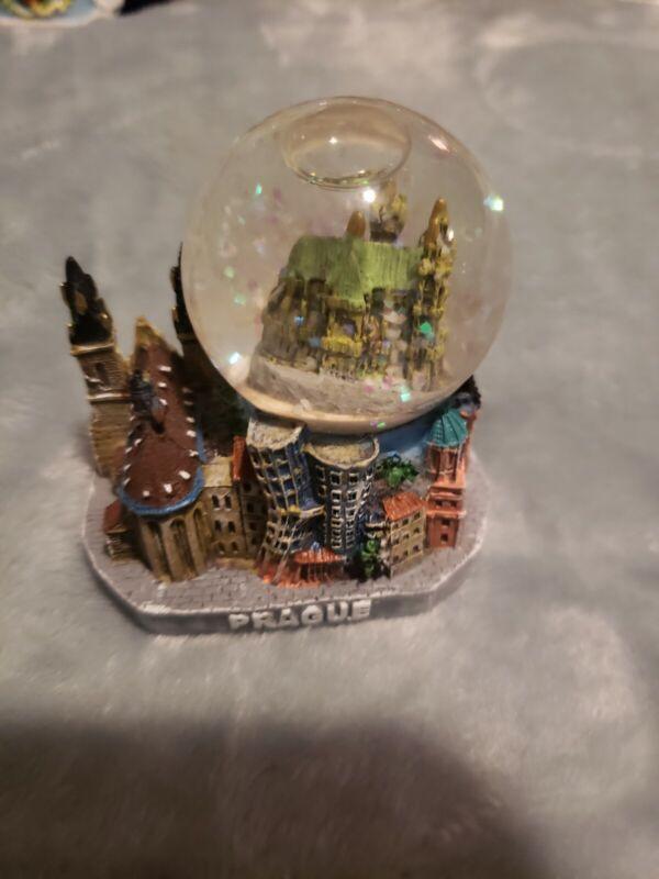 Prague Czech Republic Snow Globe
