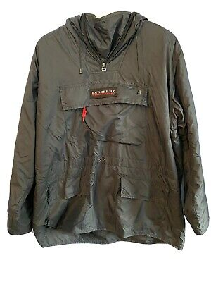 Burberry Fleece Lined Pullover - Size Large