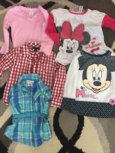 Girls size 3T tops