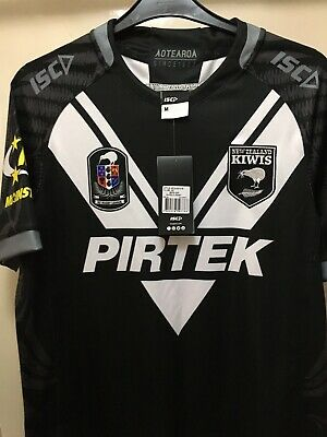 new zealand rugby league 18/19 on field shirt