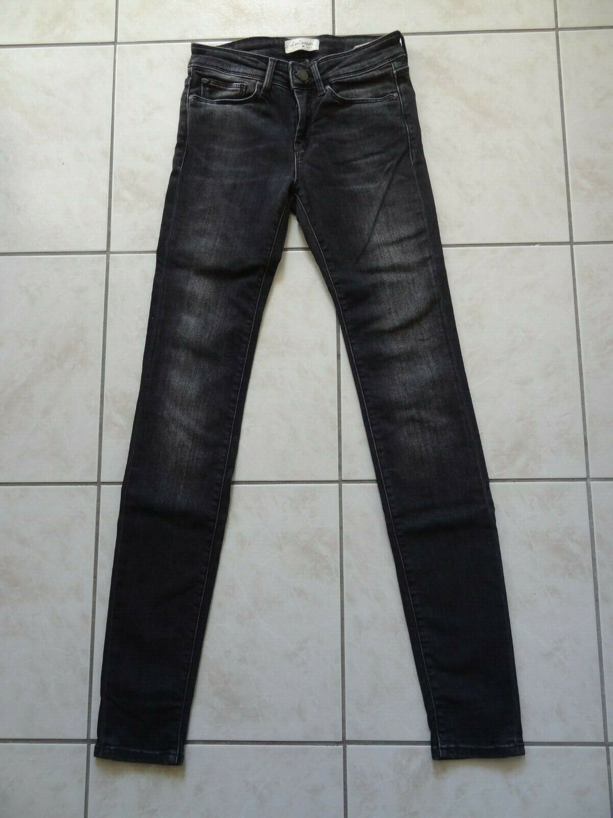 Superbe jean noir skinny lee cooper taille w 24-32 comme neuf !