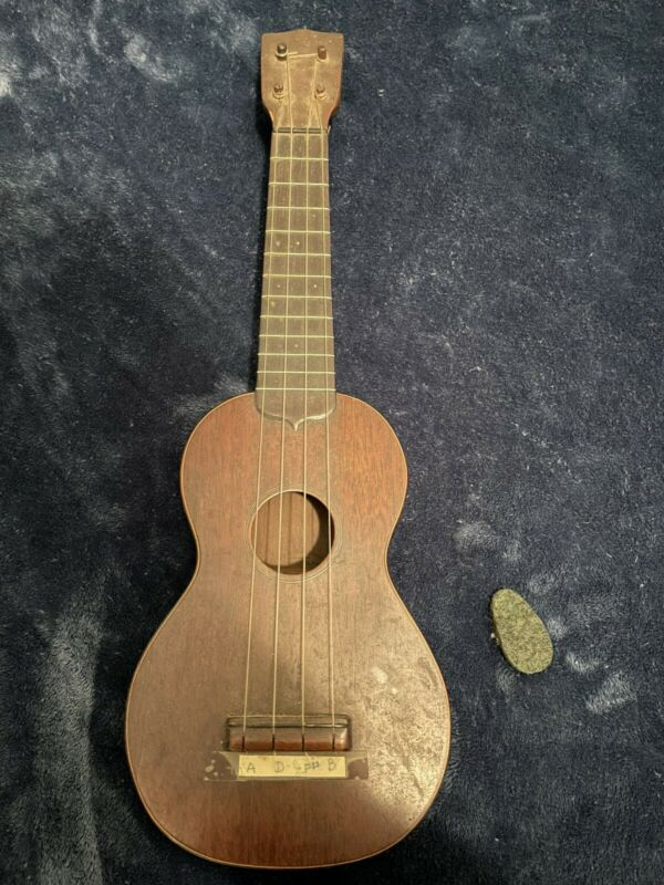 Vintage C F Martin & Co Style 1 Ukulele 1920s 20s 1924 Original Rare Antique