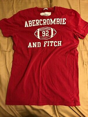 Men's Vintage Abercrombie & Fitch A&F T-shirt Tee - Large
