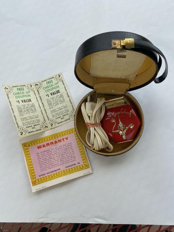 Vintage Lady Schick Electric Razor NOS Never Used