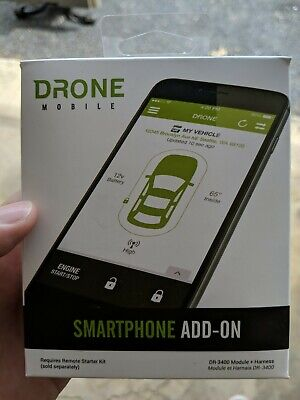 CompuStar Firstech DR3400 Drone Mobile App Telematic Module Geo GPS Tracking
