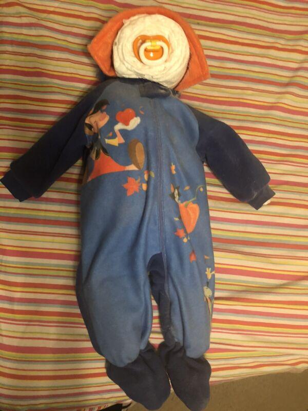 Pinocchio Diaper Baby Shower Gift Walt Disney Handmade Craft