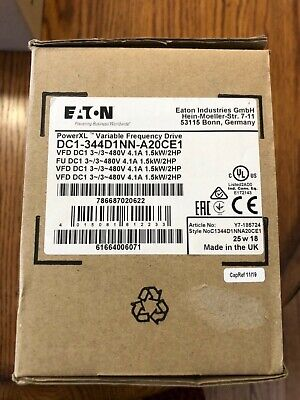 Eaton Dc1344d1nna20ce1 Variable Frequency Drive