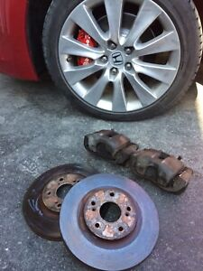 8th Gen accord v6 brake upgrade (4 cylinder)