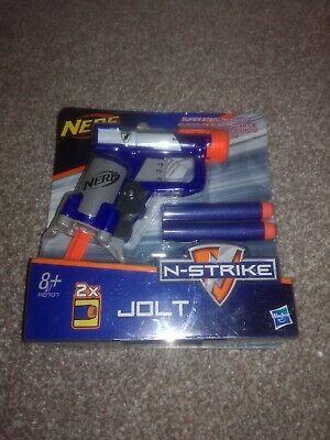 Nerf N-Strike Jolt Soft Dart Gun Blaster Super Stealth Power