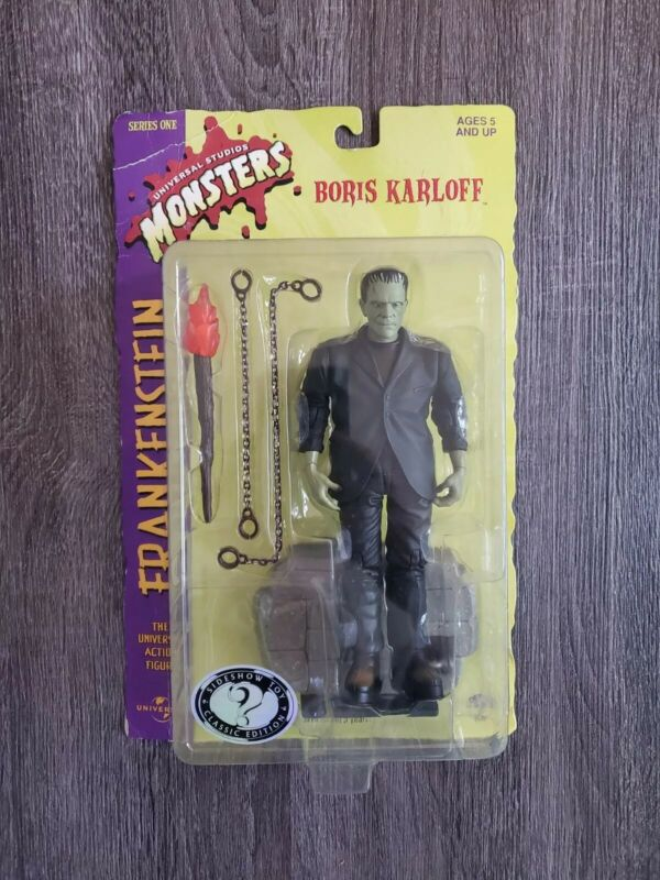 "Frankenstein Sideshow Toy Universal Monsters 8"" Figure Series One 1999"
