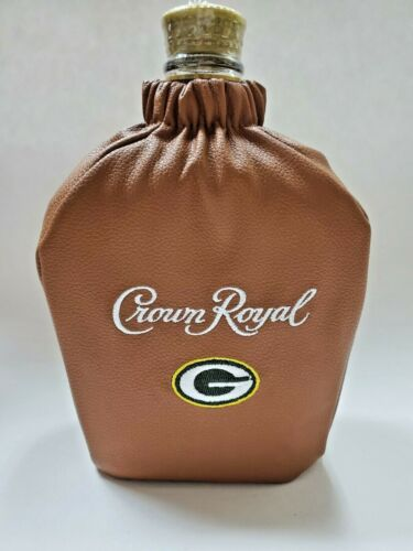 Green Bay Packers Crown Royal Football Bag Limited edition-Bag Only.