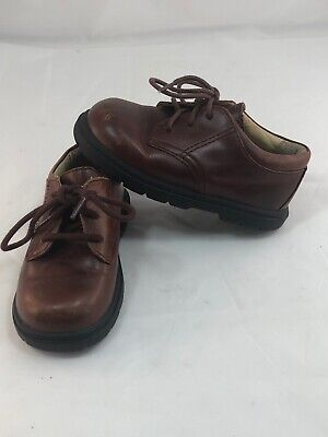 "Toddler Boys Dress Up Clothes (Stride Rite ""James"" Boys Toddler Brown Leather Dress Up Holiday Shoes Size)"