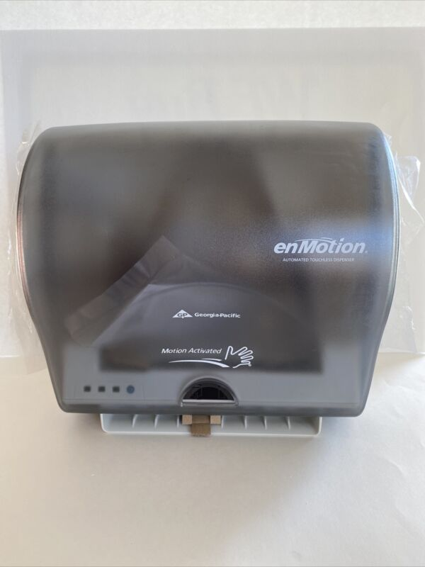 ENMOTION Georgia Pacific AUTOMATED TOUCHLESS PAPER TOWEL DISPENSER Brand New