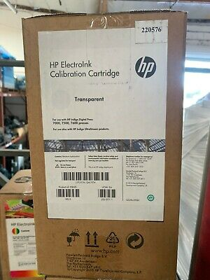 Hp Indigo Electroink Q4197a Calibration Cartridge Transparent For 7000 7500 7600