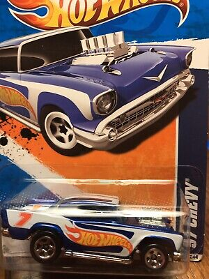 2011 Hot Wheels '57 Chevy Hw Racing #160