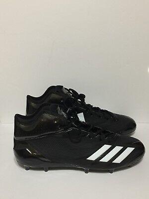 Adidas Adizero 5-Star 6.0 Mid Cleat Football Cleat Men's Size 11.5 D, BW1092