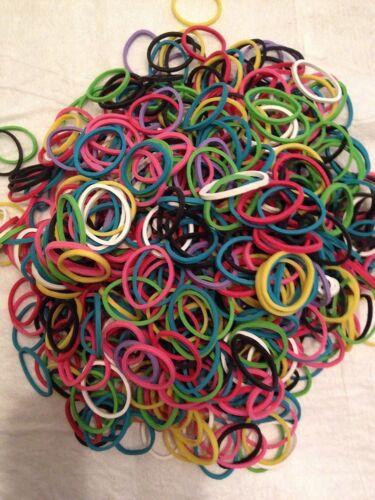 WonderLoom Refill 600 Rubber Bands with C Clips Pkg Bracelet Making Wonder Loom