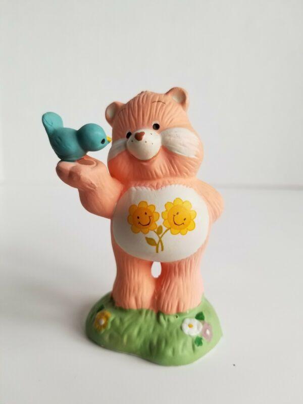 Vintage Friend Bear Care Bear Ceramic Figurine American Greetings