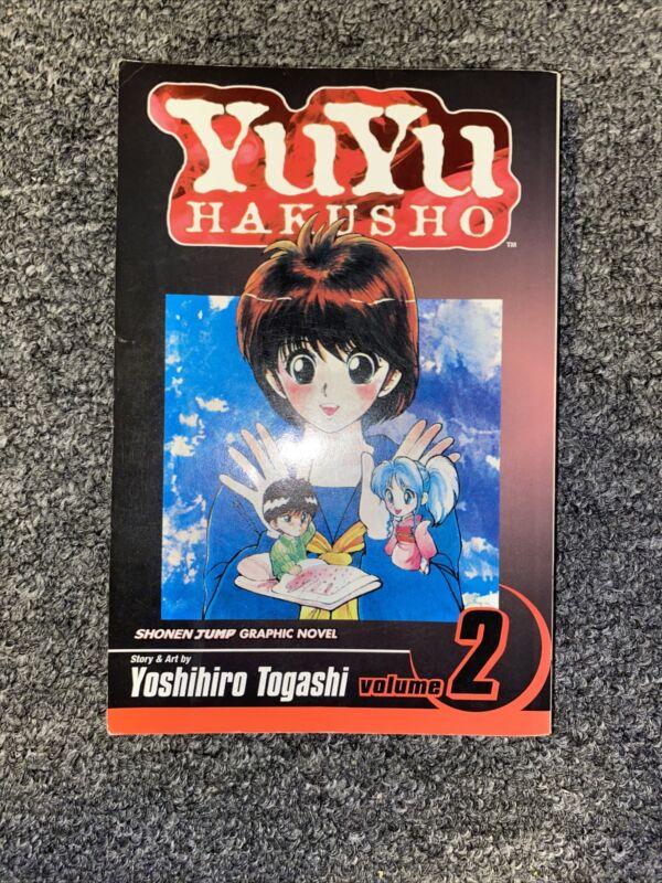 Yuyu Hakusho Manga English Vol 2