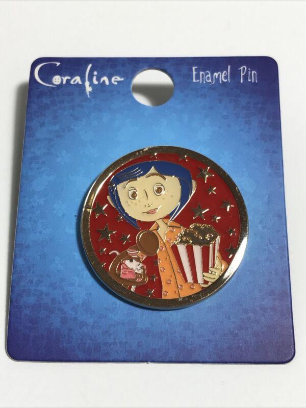 Loungefly Laika Coraline Circus Popcorn Enamel Pin