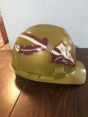 Florida State Seminoles Vintage Ncaa Hard Hat Adjustable Pin Lock Suspension