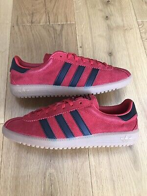 Adidas OG Bermuda UK7 Red Black Gum Terracewear Koln Gazelle Dublin Boxed