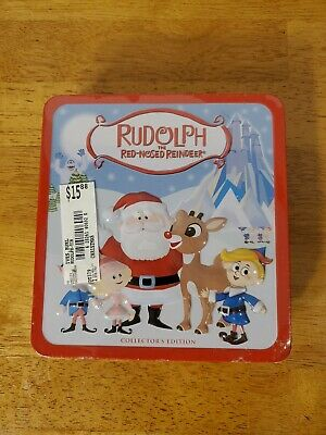 RUDOLPH THE RED NOSED REINDEER 2 CD TIN - Rudolph The Red Nosed Reindeer Set